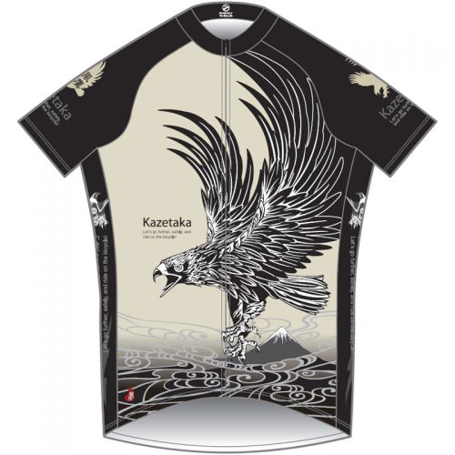 風鷹(Kazetaka) 和柄半袖ジャージ