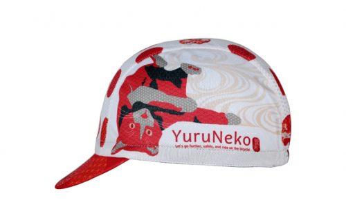 和柄サイクルキャップ 緩猫(yuruneko)