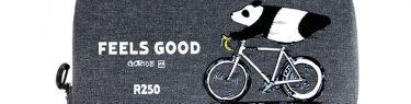 R250 GORIDE 防水スマートライドポーチスーパーDX パンダ feelsgood