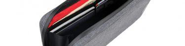 R250 防水スマートライドポーチスーパーDX グレー