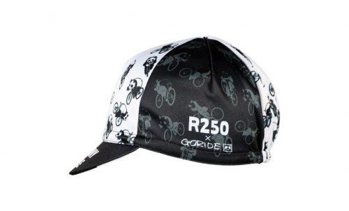 R250 GORIDE サイクルキャップ フルーミースタイルパンダ