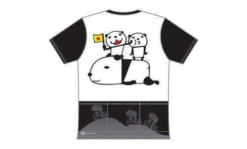 R250 パンダジャージ 3バックポケット付きTシャツ バランス
