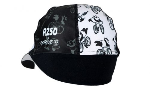 R250 GORIDE 耳付きサイクルキャップ スーパーマンパンダ