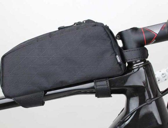 R250 トップチューブバッグ アーガイル リップストップ ブラック