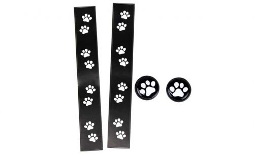 ポケマル にゃ~テープ ブラック/ホワイト猫柄