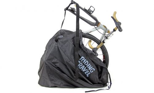 R250 グラベルバイク用 縦型軽量輪行袋 ブラック